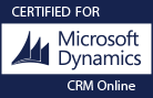 Certified for Microsoft Dynamics CRM Online