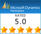 Microsoft Dynamics Marketplace Rated 5.0